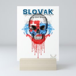 To The Core Collection: Slovakia Mini Art Print