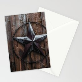 Texas Lone Star Stationery Cards