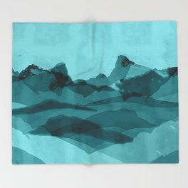 Mountain X 0.1 Throw Blanket