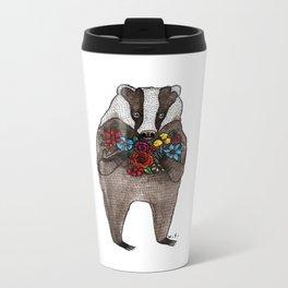 Flowers for You Metal Travel Mug