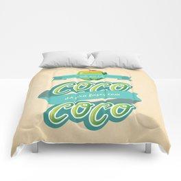 Tudo que é de coco... Comforters