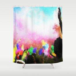 Holi Colors Shower Curtain