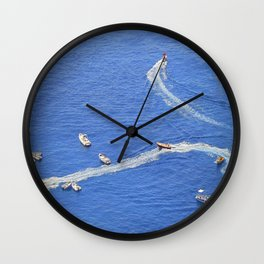 Amalfi coast, Italy 3 Wall Clock
