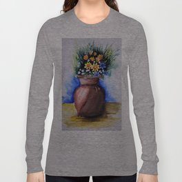 wash flower Long Sleeve T-shirt