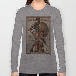 Vintage poster - USA Bonds Long Sleeve T-shirt