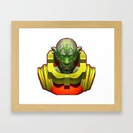 Space Odity Framed Art Print