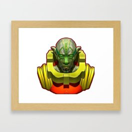 Space Odity Framed Art Print