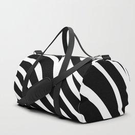 Zebra pattern Duffle Bag