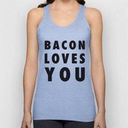 Bacon Loves You Unisex Tank Top