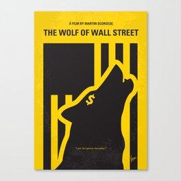No338 My wolf of wallstreet mmp Canvas Print