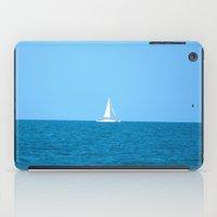 sailboat iPad Cases featuring Sailboat by MorganLoriPhoto