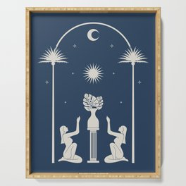 Praise the Moon. Evening. Serving Tray