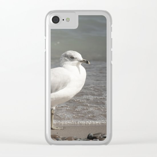 Beach Day Clear iPhone Case