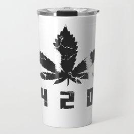 420 Marihuana b Travel Mug