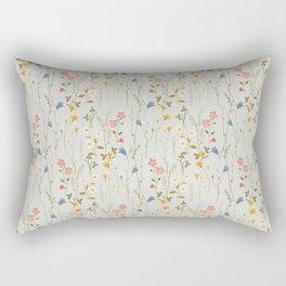 Midsummer Flowers Rectangular Pillow