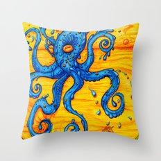 Waterpus Throw Pillow