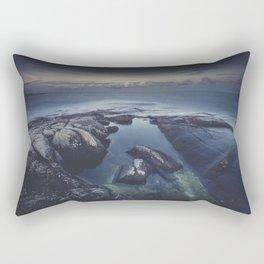 As we fade away Rectangular Pillow