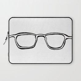 Four Eyes - B/W Laptop Sleeve