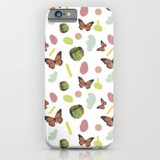 butterflies and plaid Slim Case iPhone 6s