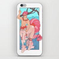 heymonster iPhone & iPod Skins featuring Prettiest Centaur by heymonster