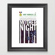 Vonnegut - Mother Night Framed Art Print
