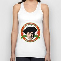 cook Tank Tops featuring Captain 'Cook' by Harry Martin