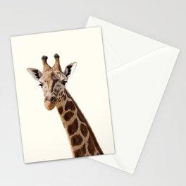 Giraffe Print Stationery Cards