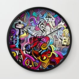 Expression II Wall Clock