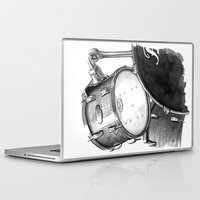 drums Laptop & iPad Skins featuring Drums by Ashley Silvernell Quick