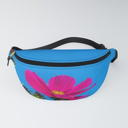 Pink Cosmos, Blue Sky Fanny Pack