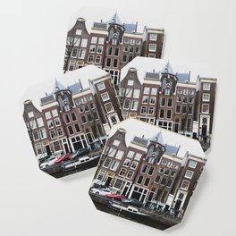Boats of Amsterdam Coaster