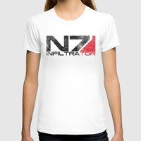 n7 T-shirts featuring Alt Infiltrator by Draygin82