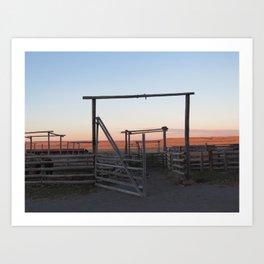 Ranch Art Print
