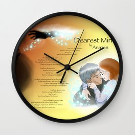 Dearest Mine Wall Clock