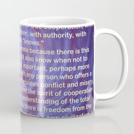 Cooperation - Quote Coffee Mug