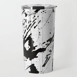 Black and white world Travel Mug