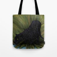 jaguar Tote Bags featuring Jaguar by Ben Geiger