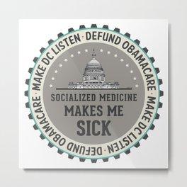 Defund Obamacare Metal Print