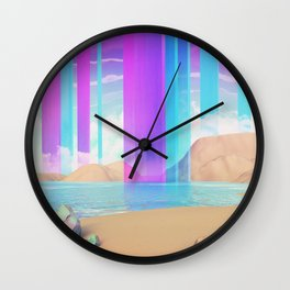 Vertical rythm Wall Clock