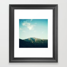 ON THE ROAD 2 Framed Art Print