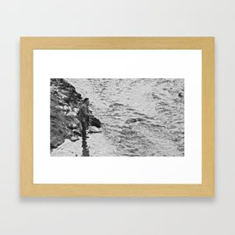 Unknown Faces In Different Places (Pt 20 - Verona, Italy) Framed Art Print