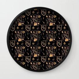 Classical School pattern Wall Clock