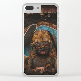 Temples and Architecture of Kathmandu City, Nepal 003 Clear iPhone Case