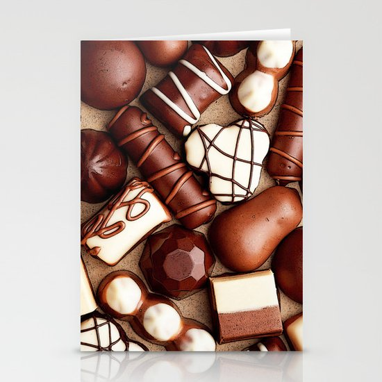 CHOCOLATES BOX for IPhone Stationery Cards