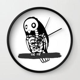 Skelebird Wall Clock