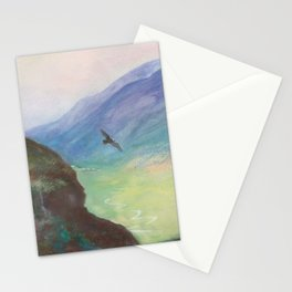 Belle's Journey: Over the Mountains Stationery Cards