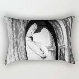 Statue Rectangular Pillow