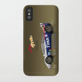 1996 McLaren F1 GTR #17R FINA iPhone Case