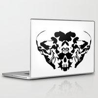 rorschach Laptop & iPad Skins featuring Rorschach  by yayanastasia