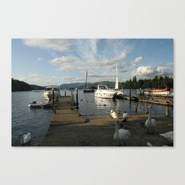 Lake Windermere Boats Canvas Print